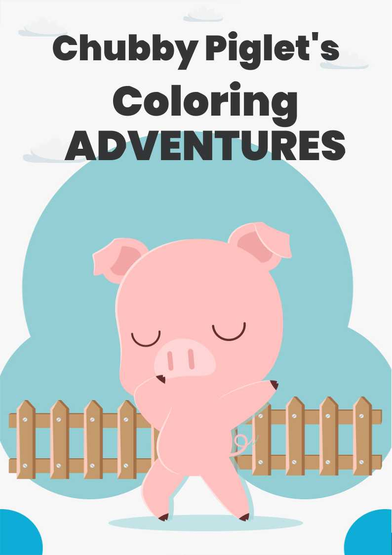 Chubby Piglet's Coloring Adventures