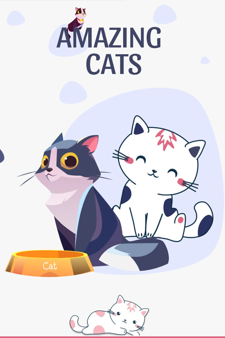 Amazing Cats to Color